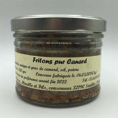 Fritons de Canard - Maison Pitoux