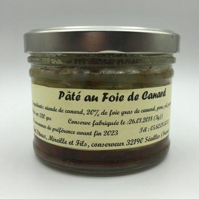 Paté de canard - Maison Pitoux