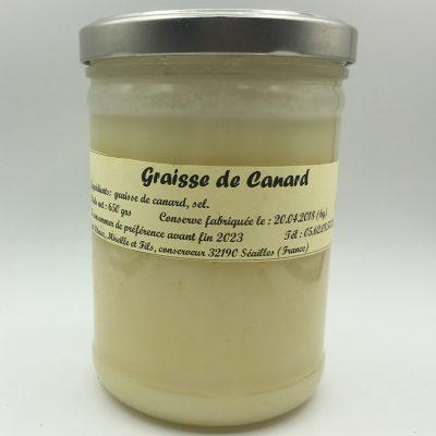 Graisse de canard - Maison Pitoux